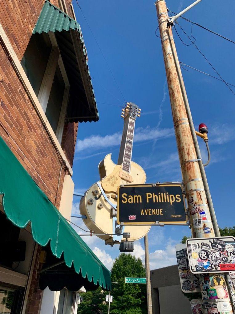 Sun Studios à Memphis