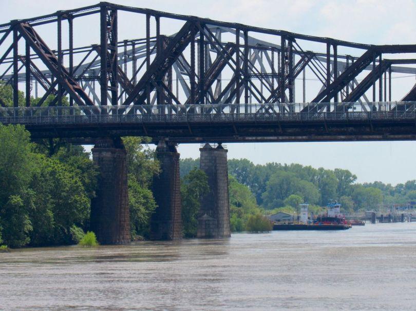 Le Mississippi à Memphis