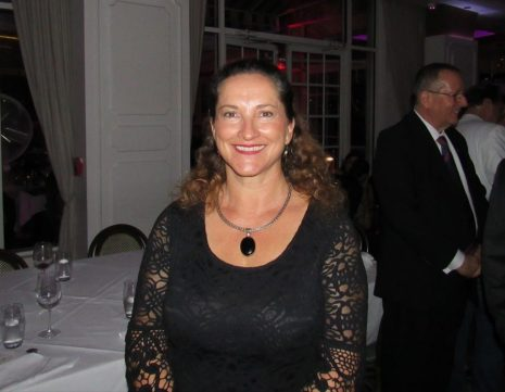 Valérie Jarnberg (UFE Tampa) au dîner d'adieu au consul de France Clément Leclerc organisé à Miami par l'UFE Floride