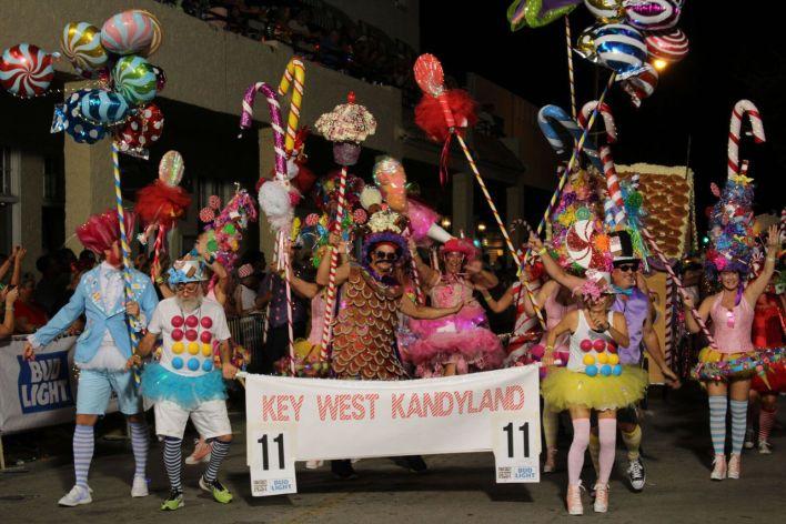 Fantasy Fest de Key West 2019