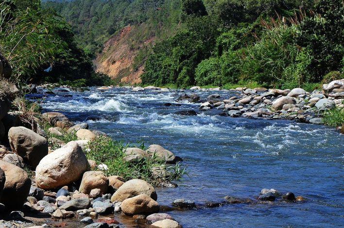 Jarabacoa, dans la montagne de République Dominicaine