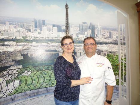 Jackie Dittmore et Christophe Molitor de Jacqueline's Bakery à Melbourne (Crédit photo : Diane Ledoux - Le Courrier de Floride)