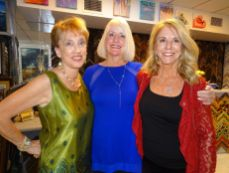 Nancy Rudick, France to You, Mindy Correa et Teresa Mangini, Frame'n Art By the Sea - Exposition Roger Crusat