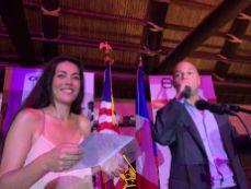 Rachel Raynaud (directrice FACC) et Christophe Poilleux (vice-président FACC)