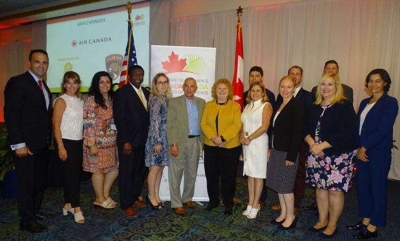 La Chambre de Commerce Canada-Floride a fêté ses 10 ans