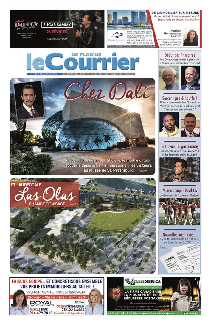 Le Courrier de Floride de Février 2020