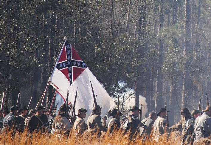The Battle of Olustee Civil War Re-Enactment