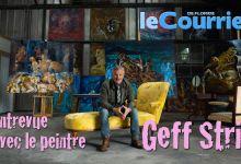 Photo de Rencontre avec Geff Strik, peintre français à St Petersburg (Floride) – Vidéo