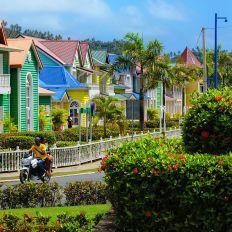 Santa Bárbara de Samaná en République Dominicaine.