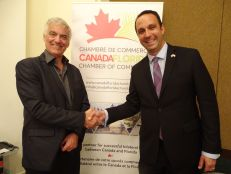 Chambre de Commerce Canada-Floride (Marcel Racicot & Glenn Cooper), Portes Ouvertes Desjardins Bank