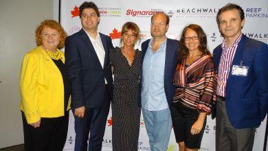 Photo de Une soirée networking intéressante a été organisée par la Chambre Canada-Floride