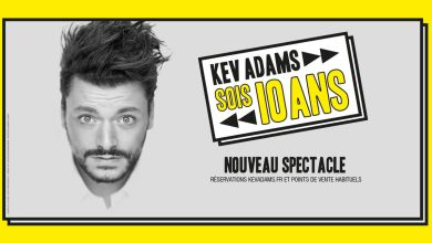 Photo de Kev Adams en spectacle à Miami Beach en juin 2020