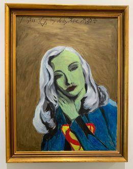 Peinture de Andy Hope au Rubell Museum de Miami (collection privée d'art contemporain)
