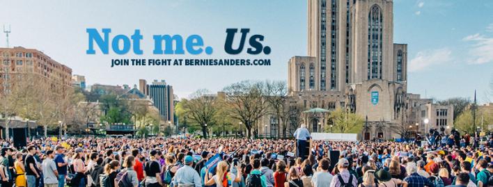 L'excellent slogan de Sanders