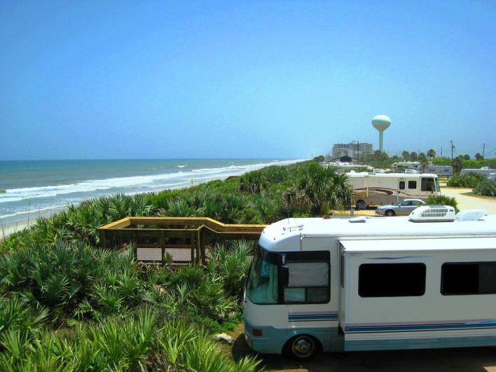 Camping dans le comté de Flagler en Floride
