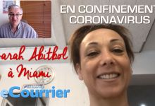 Photo de Interview de Sarah Abitbol en confinement à Miami (crise du coronavirus)