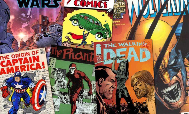 Heurs et malheurs de la bande dessinée américaine