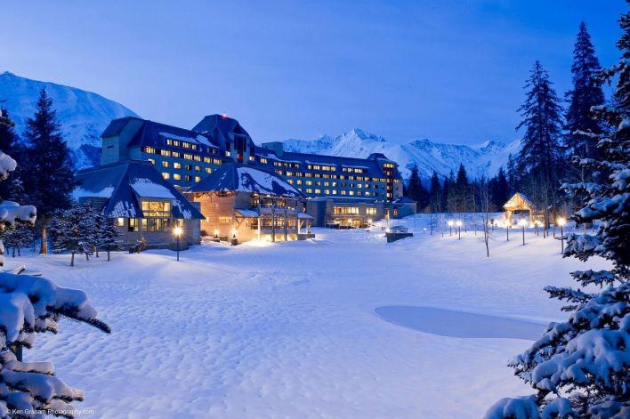 Le Alyeska Resort, pour skier en Alaska.