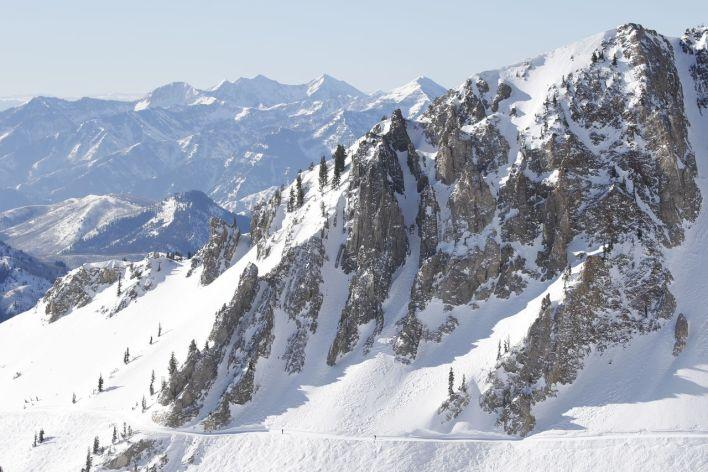 La station de ski de Snowbird (Utah)