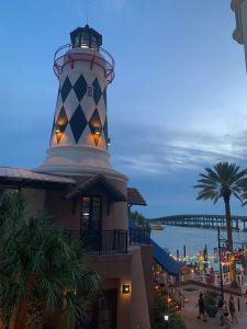 Coucher de soleil sur Destin en Floride