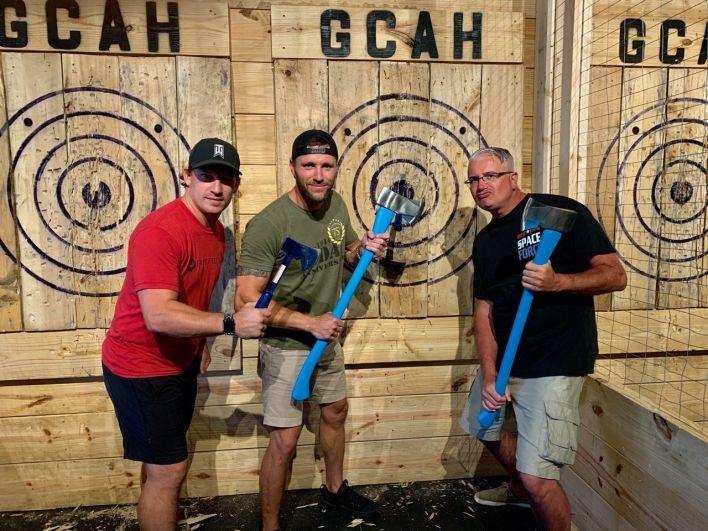 Lancer de haches à Destin en Floride