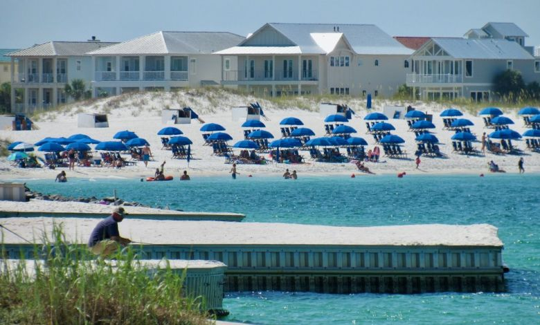 La plage de Norriego Point à Destin en Floride