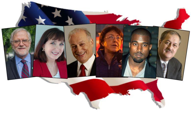 Les autres candidats à l'élection présidentielle aux Etats-Unis