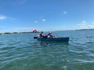 Kayak entre Islamorada et Indian Key, dans les Keys de Floride