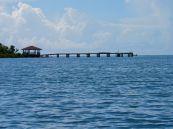 La jetée d'Indian Key, dans les Keys de Floride