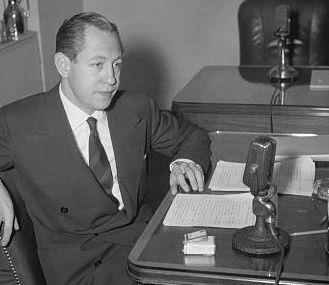 William S Paley, le créateur et patron historique de CBS