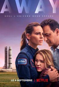 Affiche de la série Netflix Away