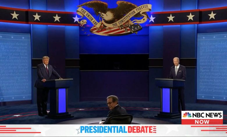 Le premier débat entre Donald Trump et Joe Biden - live
