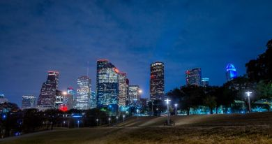 Downtown Houston, au Texas