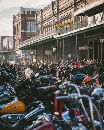 Bikers à Galveston Texas
