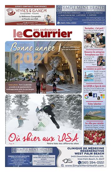 Couverture du Courrier des Amériques de Janvier 2021