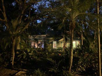 Lumière de Noël dans le quartier de Riverside Park à Fort Lauderdale en Floride