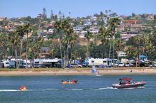 Sports nautiques sur la Mission Bay
