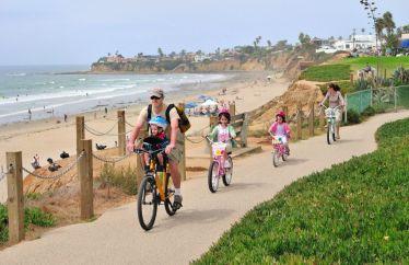Boardwalk à Pacific-Beach
