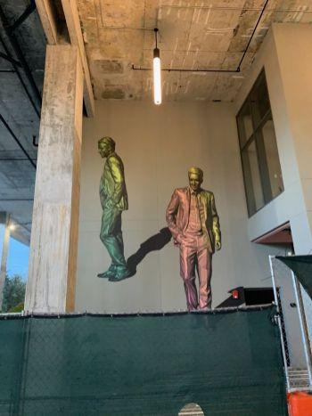 Le nouvel immeuble Society of Las Olas, là où se trouve la statue.