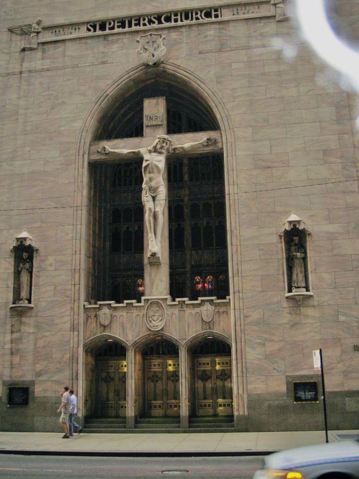 St Peter's Church dans le Loop de Chicago