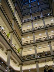 Intérieur du Marshall Field's building (Macy's) de Chicago
