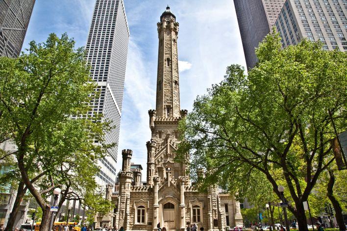 Water Tower de Chicago.