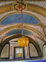 Plafonds du Marshall Field's building (Macy's) de Chicago