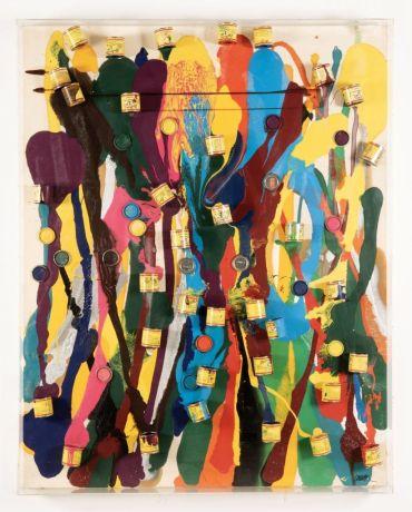 Arman, Untitled (1989–90).