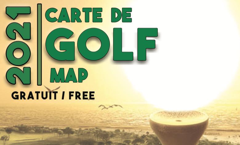 Canam a publié sa « Carte Desjardins Bank » 2021 des golfs de Floride !