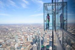 Skydeck de la Willis Tower.