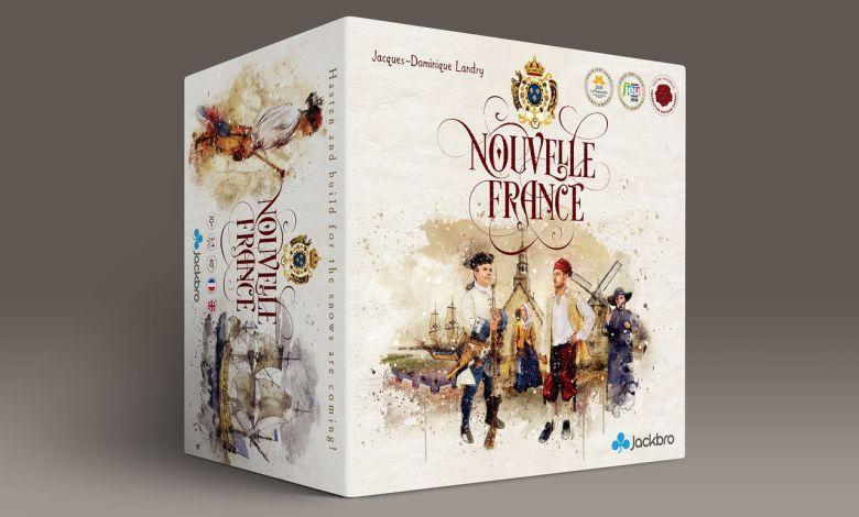 Nouvelle-France : un nouveau jeu de société !