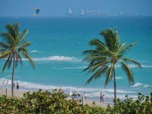 La plage de Hollywood en Floride