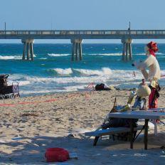 Qu'est-ce-que c'est que ce VR sur la plage de Deerfield Beach ?!