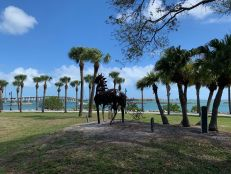 Le centre de Fort Pierce en Floride